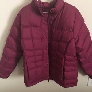 L.L Bean puff jacket
